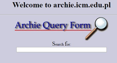 The first ever search engine - Archie, developed in 1993